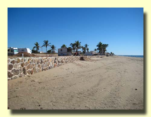 El Mirador's New Beach Wall