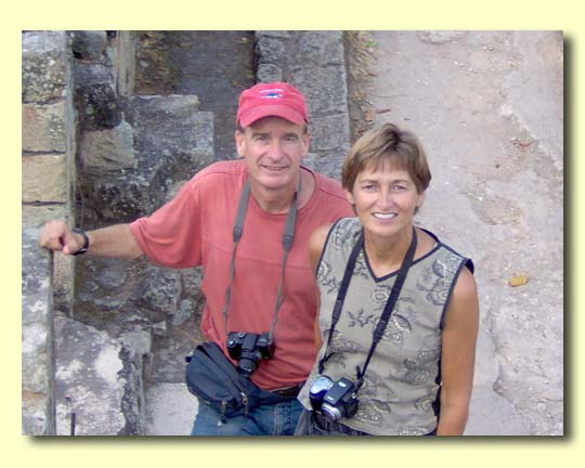 Terri and Mike at Tikal